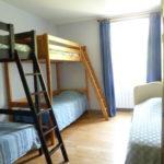 dortoir 5 places : 2 lits en mezzanine